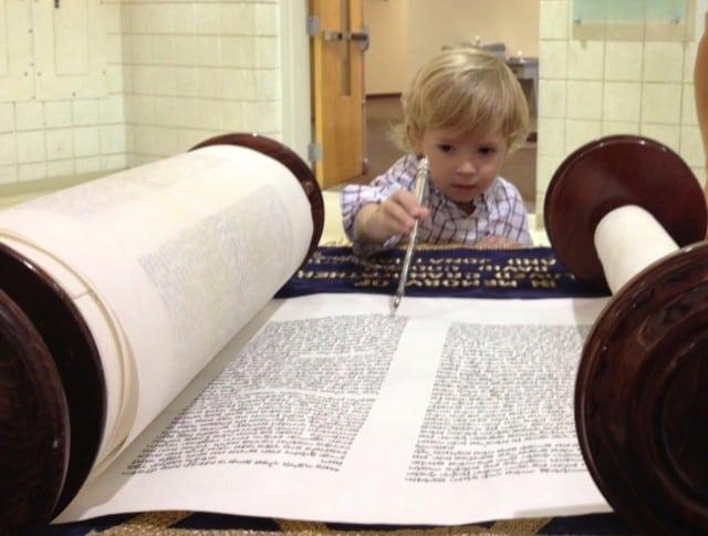 reading torah