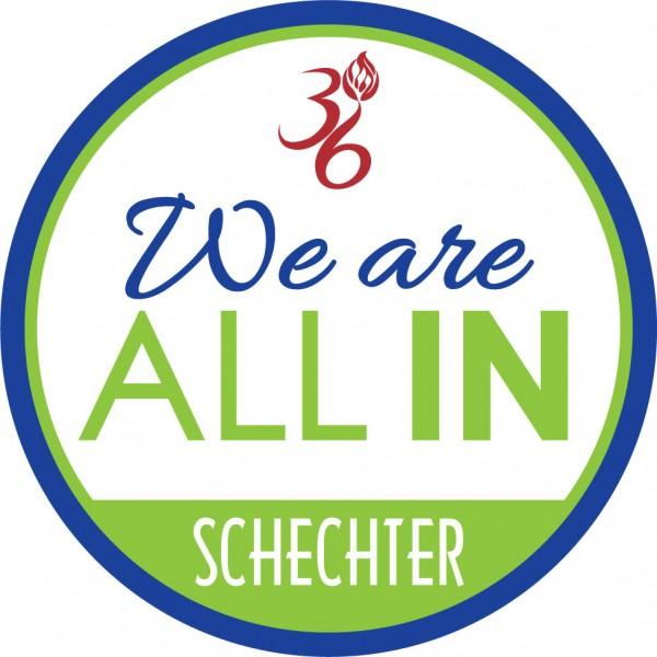 All In campaign logo donate