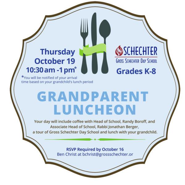 Grandparent Luncheon Fall 2017